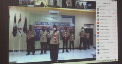 Dokumentasi : KML Kwarda Jateng di Kwarcab Kota Salatiga